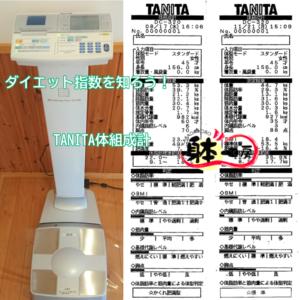 【TANITA体組成計で測っています 】ダイエット指数を知ろう